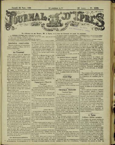 Journal d'Ypres (1874 - 1913) 1900-03-24