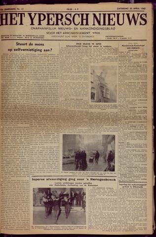 Het Ypersch nieuws (1929-1971) 1960-04-30