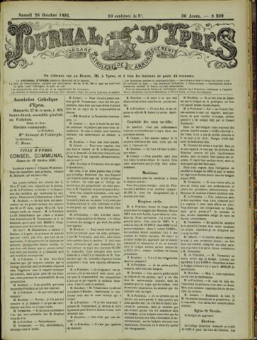Journal d'Ypres (1874 - 1913) 1895-10-26