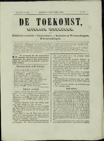 De Toekomst (1862 - 1894) 1863-01-04