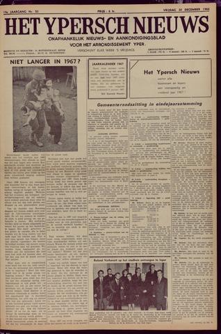 Het Ypersch nieuws (1929-1971) 1966-12-30