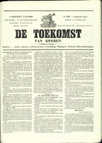 De Toekomst (1862 - 1894) 1870-10-23