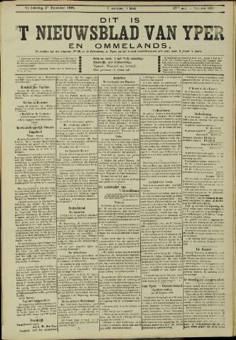 Nieuwsblad van Yperen en van het Arrondissement (1872 - 1912) 1902-12-06