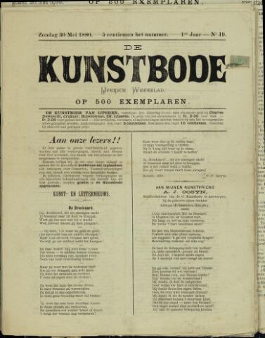 De Kunstbode (1880 - 1883) 1880-05-30