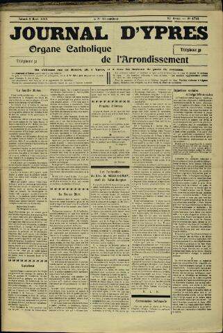 Journal d'Ypres (1874 - 1913) 1912-03-09