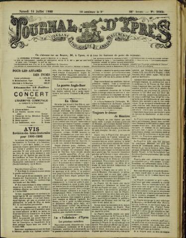 Journal d'Ypres (1874 - 1913) 1900-07-14