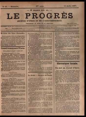 Le Progrès (1841-1914) 1897-07-11
