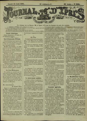 Journal d'Ypres (1874 - 1913) 1897-04-10