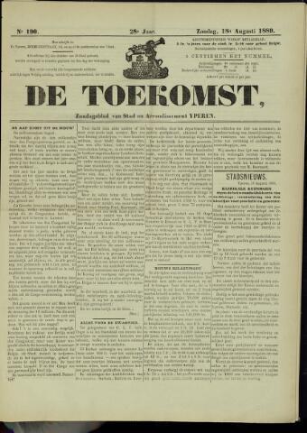 De Toekomst (1862 - 1894) 1889-08-18