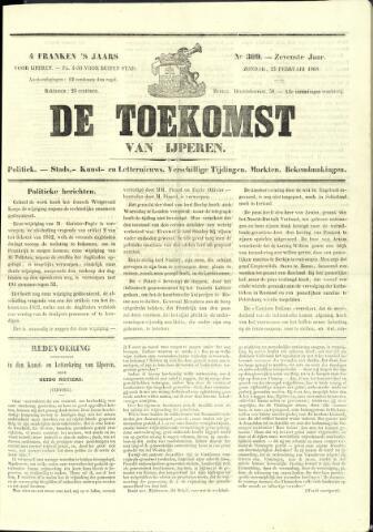 De Toekomst (1862 - 1894) 1868-02-23
