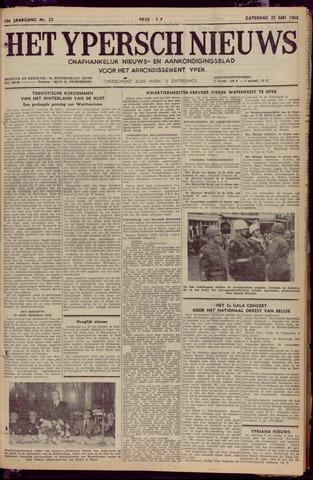 Het Ypersch nieuws (1929-1971) 1963-05-25