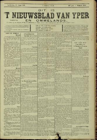 Nieuwsblad van Yperen en van het Arrondissement (1872 - 1912) 1905-08-19