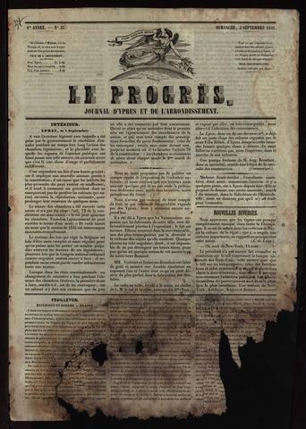 Le Progrès (1841-1914) 1841-09-05