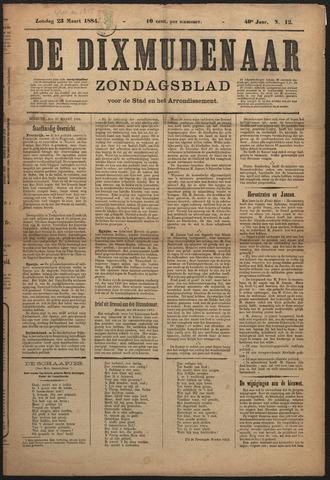 De Dixmudenaar 1884