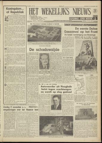 Het Wekelijks Nieuws (1946-1990) 1957-11-16