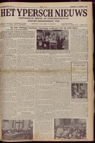 Het Ypersch nieuws (1929-1971) 1967-03-10