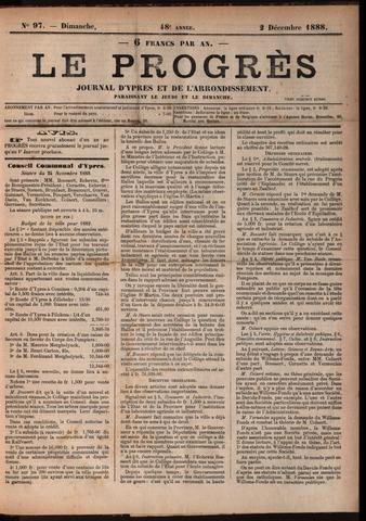 Le Progrès (1841-1914) 1888-12-02