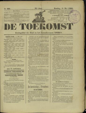De Toekomst (1862 - 1894) 1892-05-01