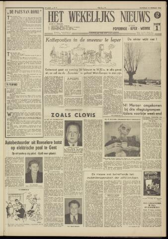 Het Wekelijks Nieuws (1946-1990) 1956-02-25