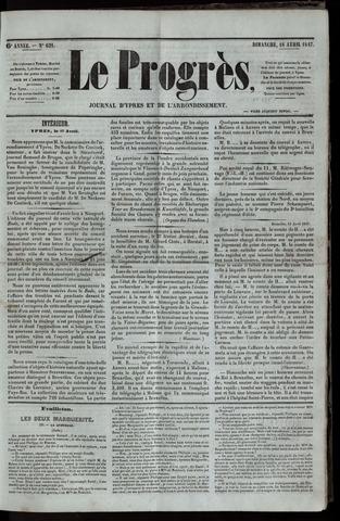 Le Progrès (1841-1914) 1847-04-18