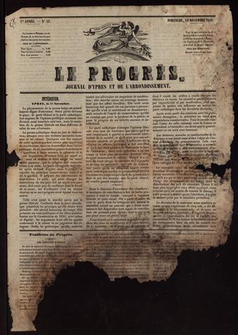 Le Progrès (1841-1914) 1841-11-14