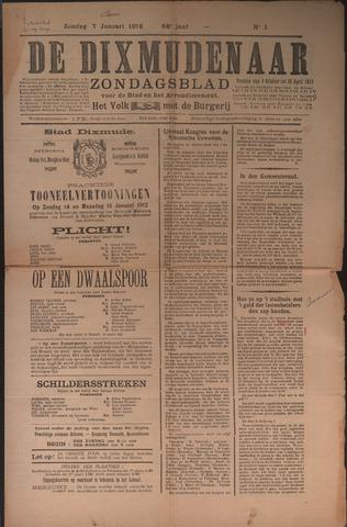 De Dixmudenaar 1912