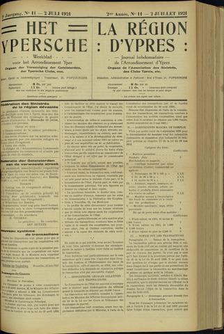 Het Ypersche (1925 - 1929) 1921-07-02