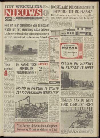 Het Wekelijks Nieuws (1946-1990) 1974-06-07