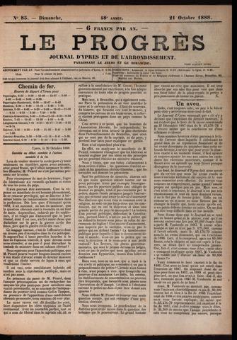 Le Progrès (1841-1914) 1888-10-21
