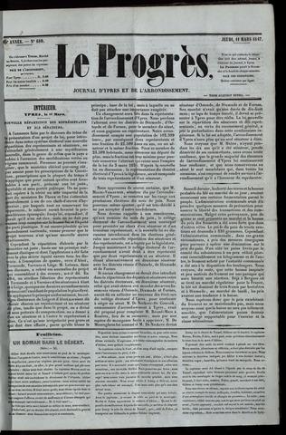 Le Progrès (1841-1914) 1847-03-11