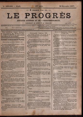 Le Progrès (1841-1914) 1897-12-30