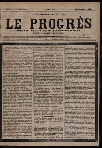 Le Progrès (1841-1914) 1879-01-19