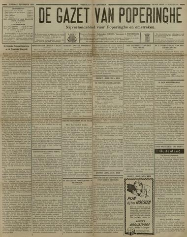 De Gazet van Poperinghe  (1921-1940) 1930-11-02