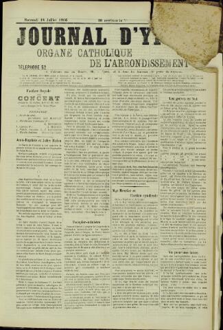 Journal d'Ypres (1874 - 1913) 1906-07-18