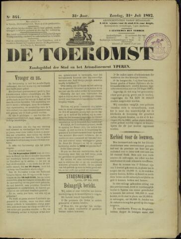 De Toekomst (1862 - 1894) 1892-07-31