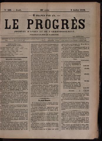 Le Progrès (1841-1914) 1879-07-03