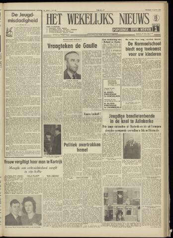 Het Wekelijks Nieuws (1946-1990) 1958-06-13