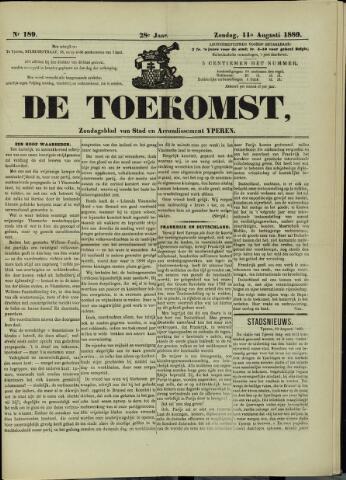 De Toekomst (1862 - 1894) 1889-08-11