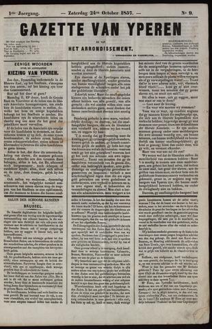 Gazette van Yperen (1857-1862) 1857-10-24