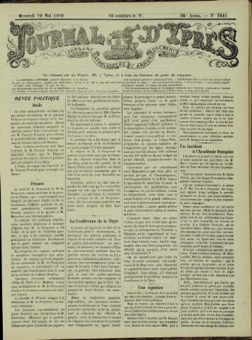 Journal d'Ypres (1874 - 1913) 1899-05-10