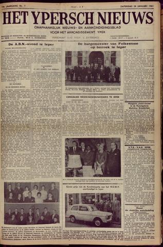 Het Ypersch nieuws (1929-1971) 1961-01-28