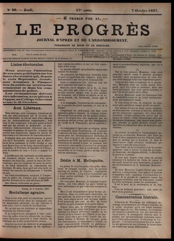 Le Progrès (1841-1914) 1897-10-07