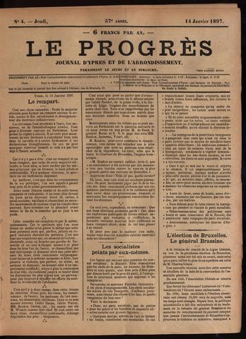 Le Progrès (1841-1914) 1897-01-14