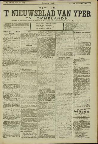 Nieuwsblad van Yperen en van het Arrondissement (1872 - 1912) 1902-07-19