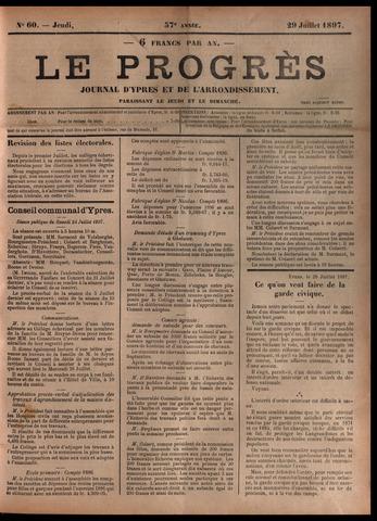 Le Progrès (1841-1914) 1897-07-29