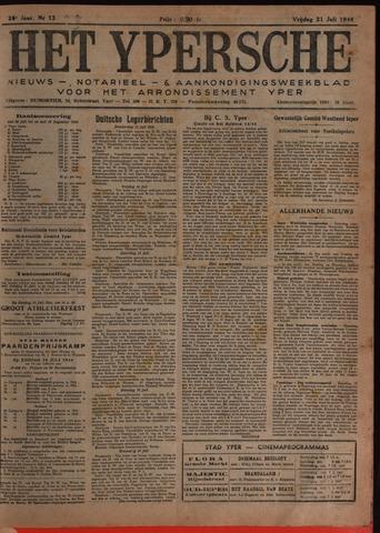 Het Ypersch nieuws (1929-1971) 1944-07-21