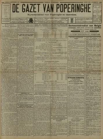 De Gazet van Poperinghe  (1921-1940) 1931-09-20