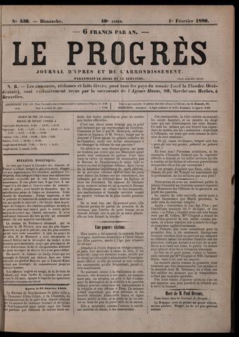 Le Progrès (1841-1914) 1880-02-01