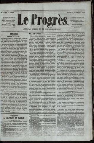 Le Progrès (1841-1914) 1847-10-03