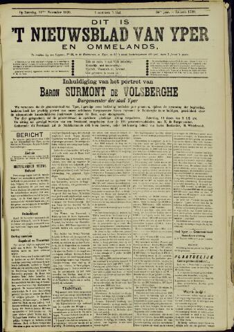Nieuwsblad van Yperen en van het Arrondissement (1872 - 1912) 1899-11-11
